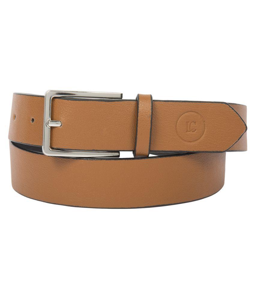 Leder Concepts Brown Leather Casual Belts