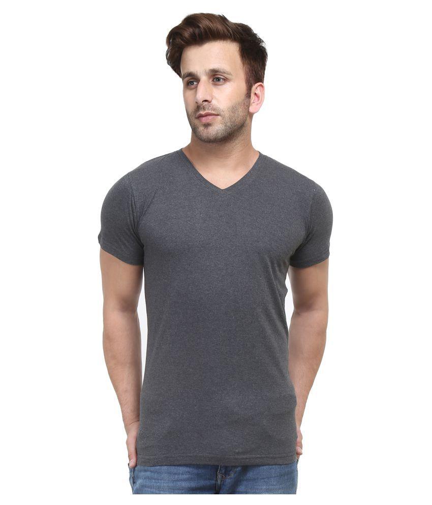 Stitch Studios Grey V-Neck T-Shirt
