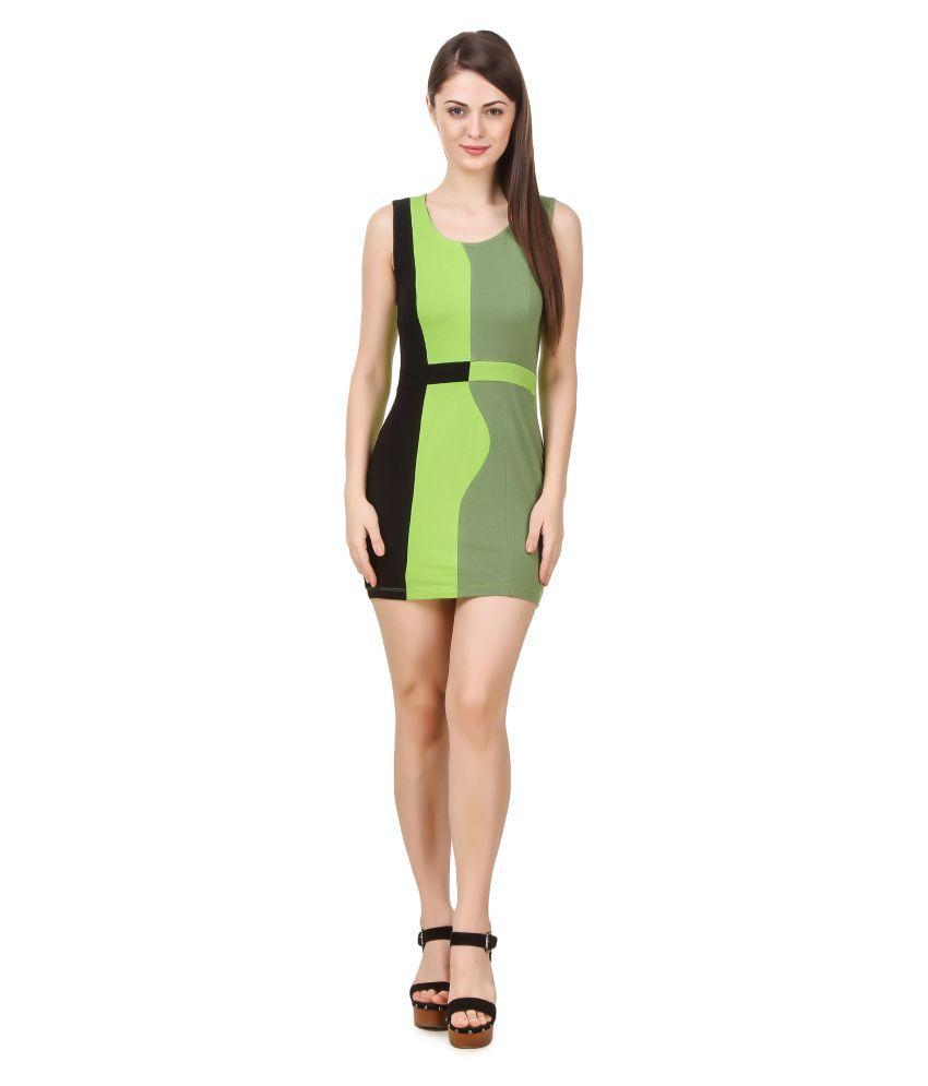 Texco Cotton Lycra Bodycon Dress
