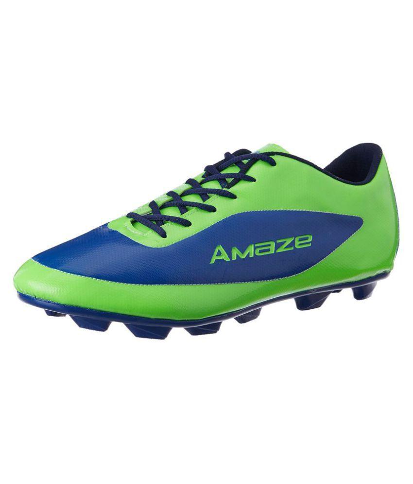 Vector X Amaze Green Football Shoes