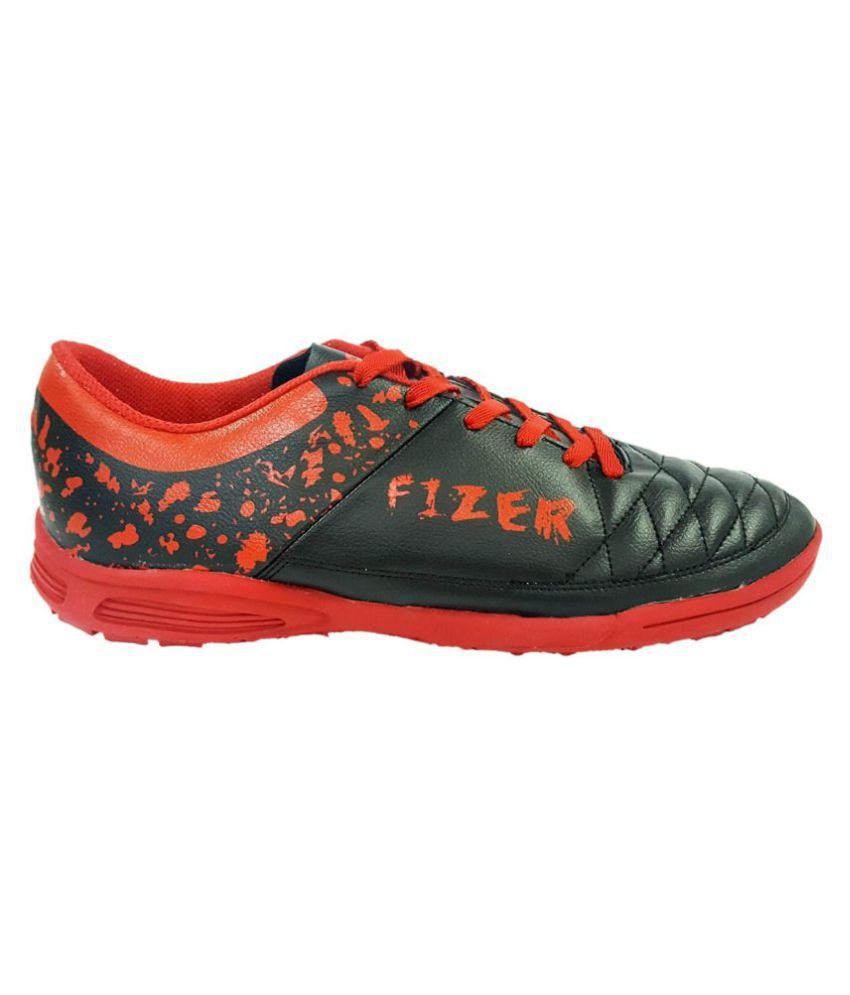 Vector X Fizer Black Football Shoes
