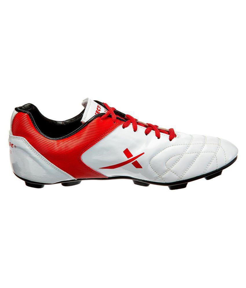 7907dadba6e603 Vector X Fusion Red Football Shoes Vector X Fusion Red Football Shoes ...