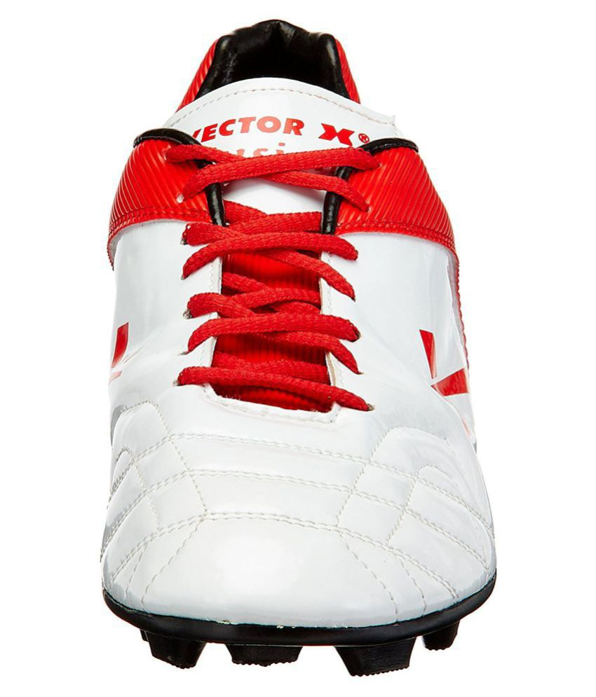 3512efa98d100f Vector X Fusion Red Football Shoes - Buy Vector X Fusion Red ...