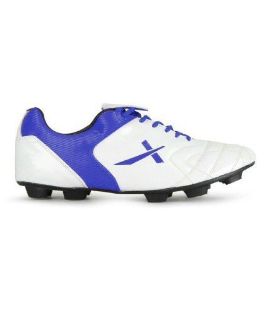 Vector X Fusion_kids White Football Shoes