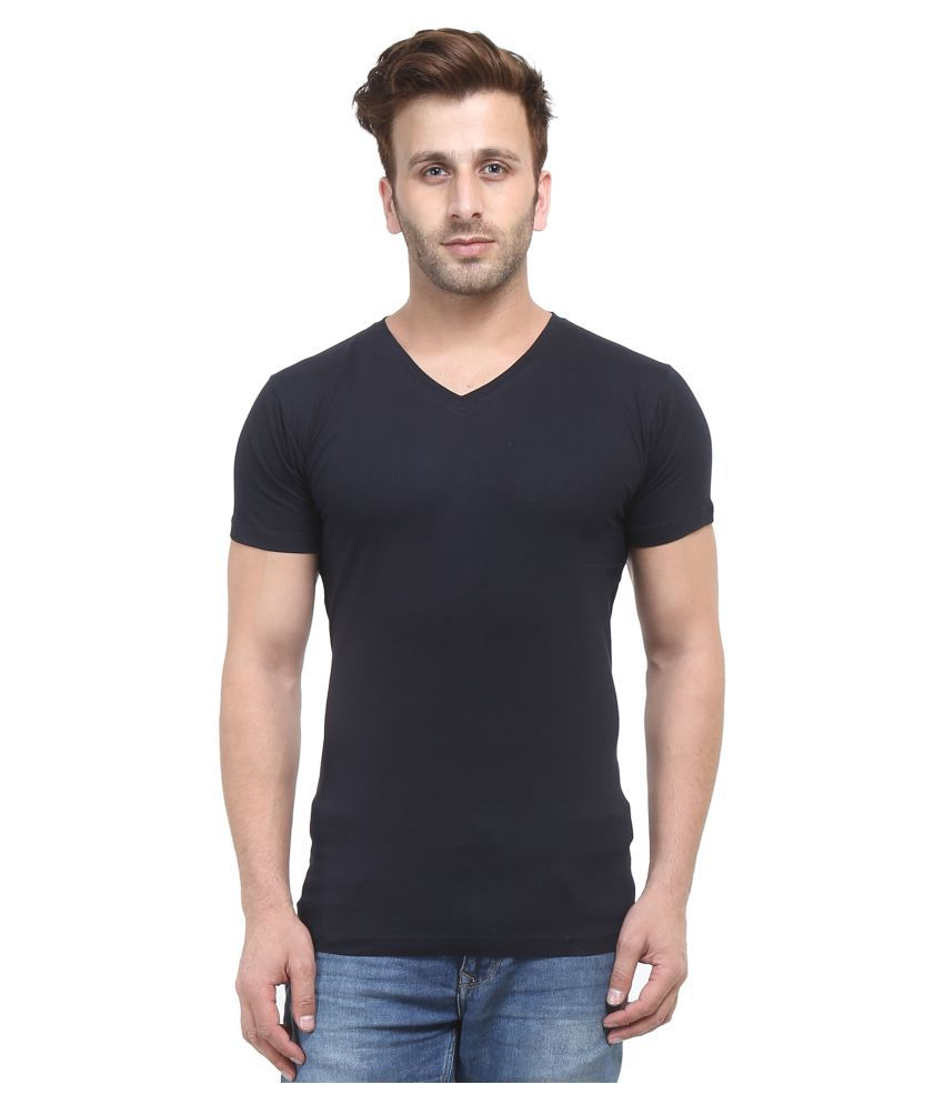 Stitch Studios Black V-Neck T-Shirt