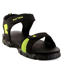 Rod Takes ATN004 Black Floater Sandals