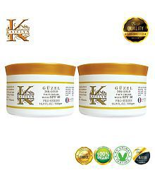 Katelyn Güzel 24K Gold Face Cream With SPF 30 Pro Series Day Cream 1000 Gm Pack Of 2