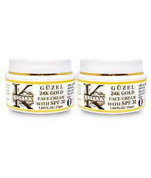 Katelyn Güzel 24K Gold Face Cream With SPF 30 Day Cream 100 Gm Pack Of 2