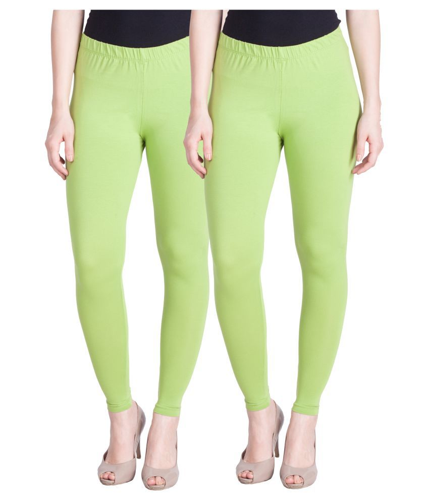 Lux Lyra Cotton Lycra Pack of 2 Leggings