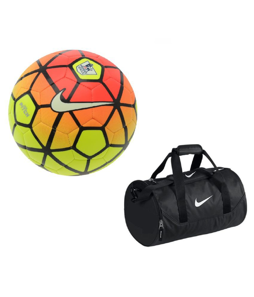 Nike Ordem Football / Ball  Size 5  with Gym Duffle Bag Combo Football / Ball Size  5