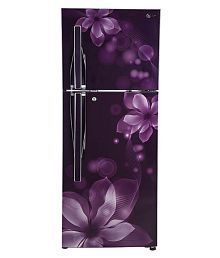 LG 260 Ltr 3 Star GL-I292RPOY Double Door Refrigerator - Purple