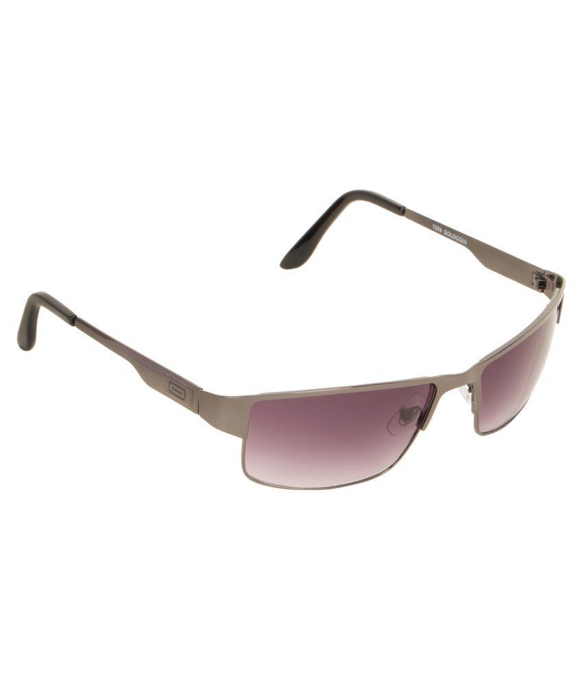 c9c7843649 Adine Purple Rectangle Sunglasses ( AD-1009 ) - Buy Adine Purple Rectangle  Sunglasses ( AD-1009 ) Online at Low Price - Snapdeal