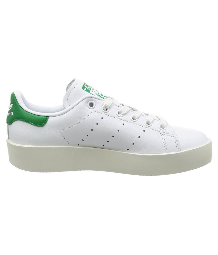 9a0b11fe52b08e Adidas Stan SMith Bold W Sneakers White Casual Shoes - Buy Adidas ...