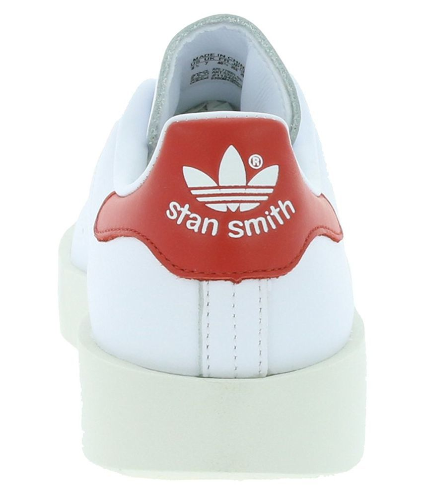 san francisco b8383 c197d Adidas Stan SMith Bold W Sneakers White Casual Shoes
