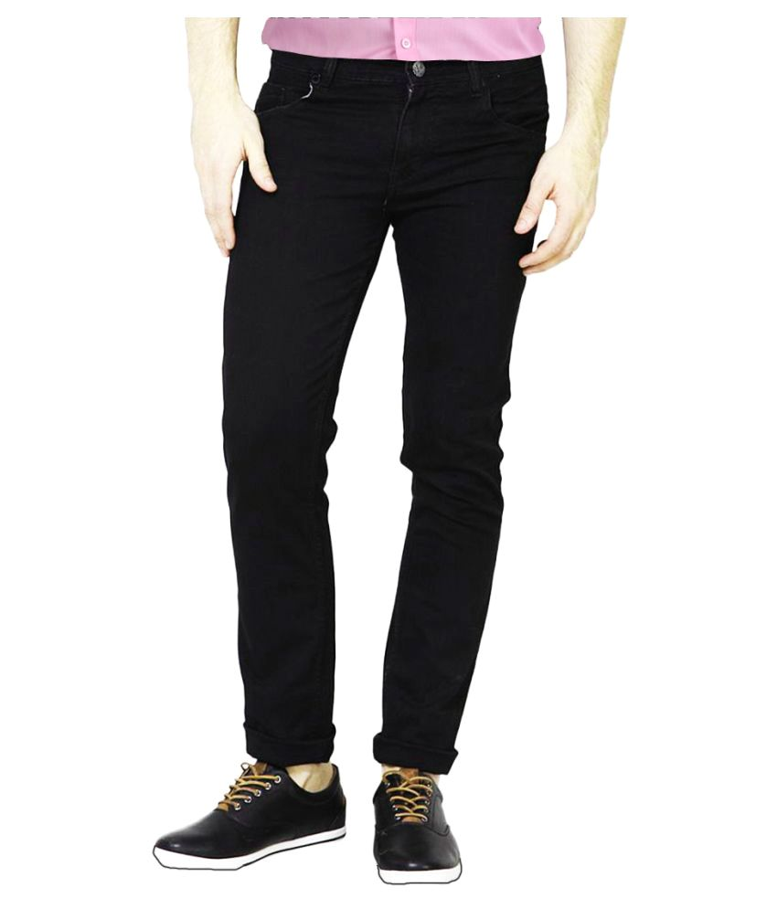 FunTree Black Regular Fit Jeans