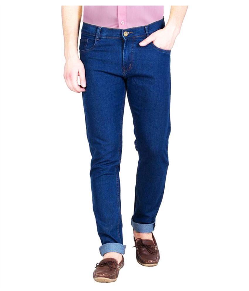 FunTree Light Blue Regular Fit Jeans