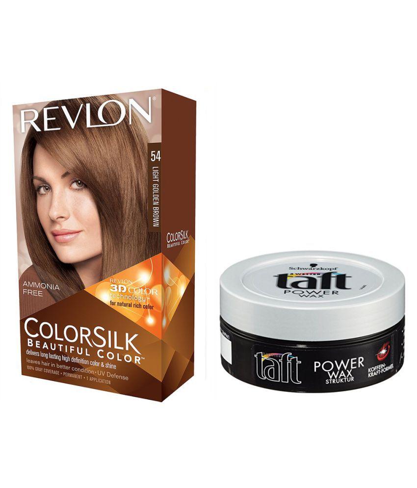 REVLON Semi Permanent Hair Color Golden Blonde 2 gm Pack of 2: Buy ...