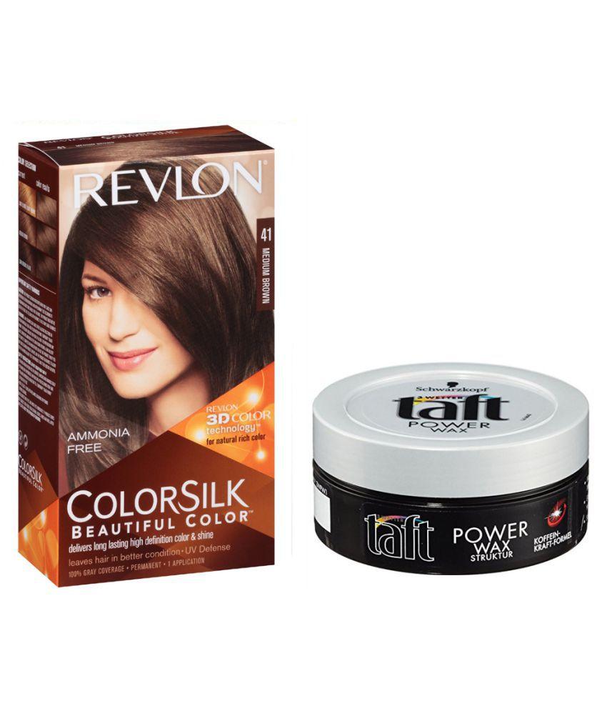 REVLON Semi Permanent Hair Color Brown 2 gm Pack of 2: Buy REVLON ...