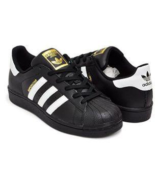 superstar adidas black
