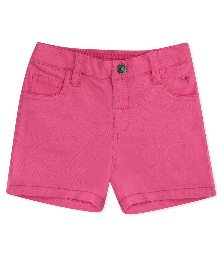 FS MiniKlub Girl's Short Length Bottoms-Pink