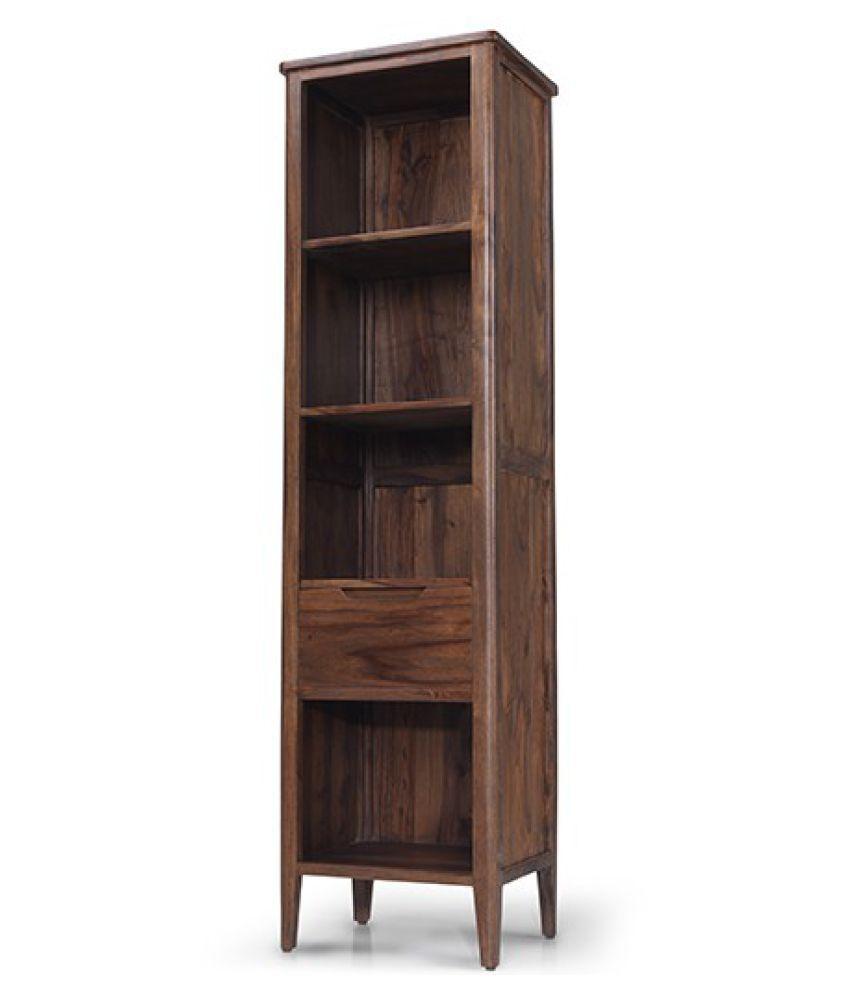 Buy Solid Wood Bookshelf Online At