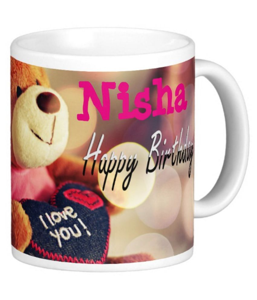Happy Birthday Nisha Buy Online At Best Price In India Snapdeal