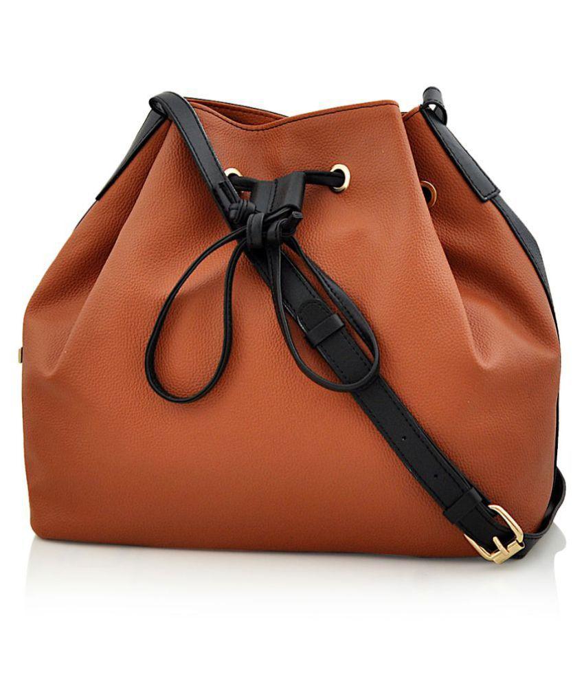 Steller Multi Faux Leather Sling Bag
