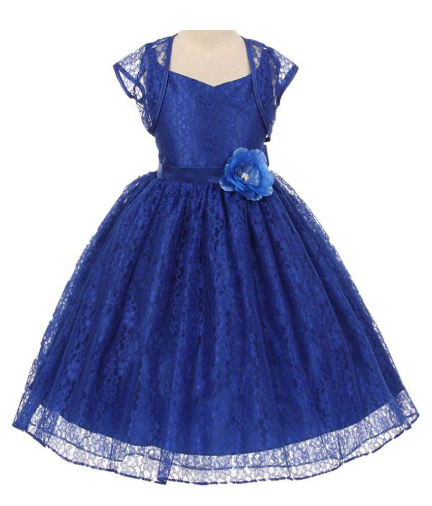 Sofyana 1-10 Years Little  Girls Party Wear Dress & Frock