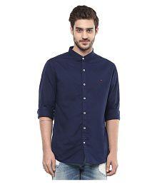 Spykar Blue Casual Slim Fit Shirt