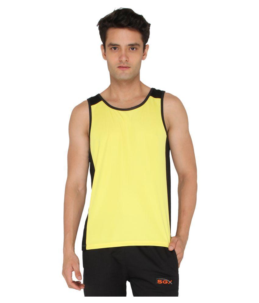 SGX Yellow Round T-Shirt