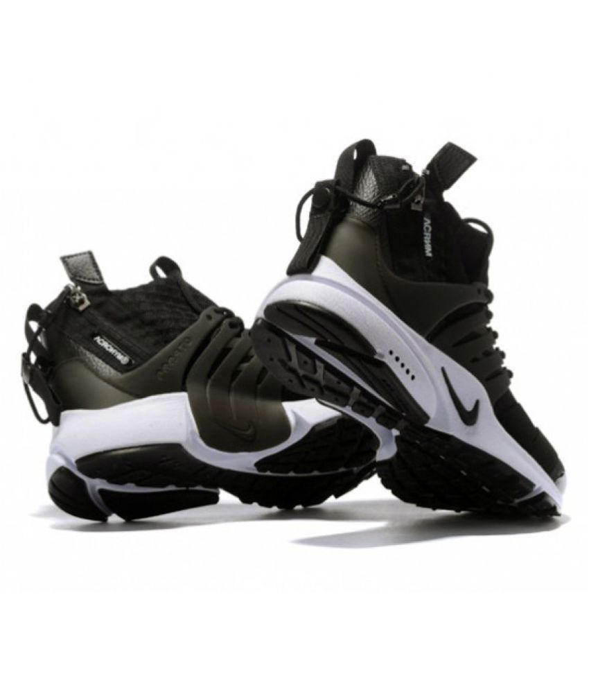 Nike X Acronym Air Presto Mid Black Training Shoes