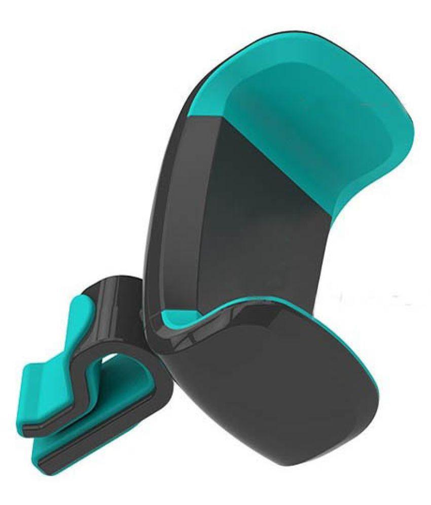 Shopizone Car Mobile Holder Vertical Clip for Air Vent - Blue: Buy ...