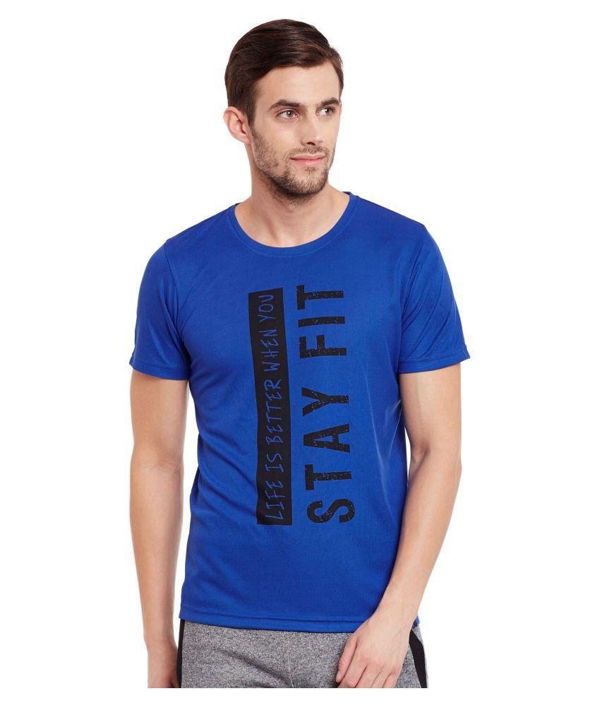 The Vanca Blue Round T-Shirt