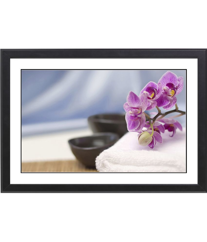 CRAFTSFEST BEUTIFULL FLOWER MDF Painting With Frame