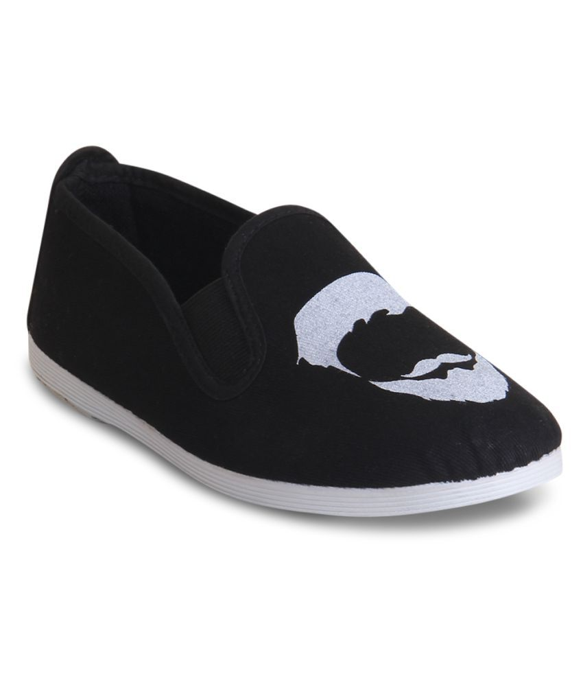 Scentra Black Casual Shoes