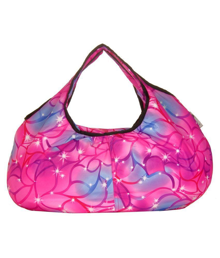 JGShoppe Pink Fabric Handheld