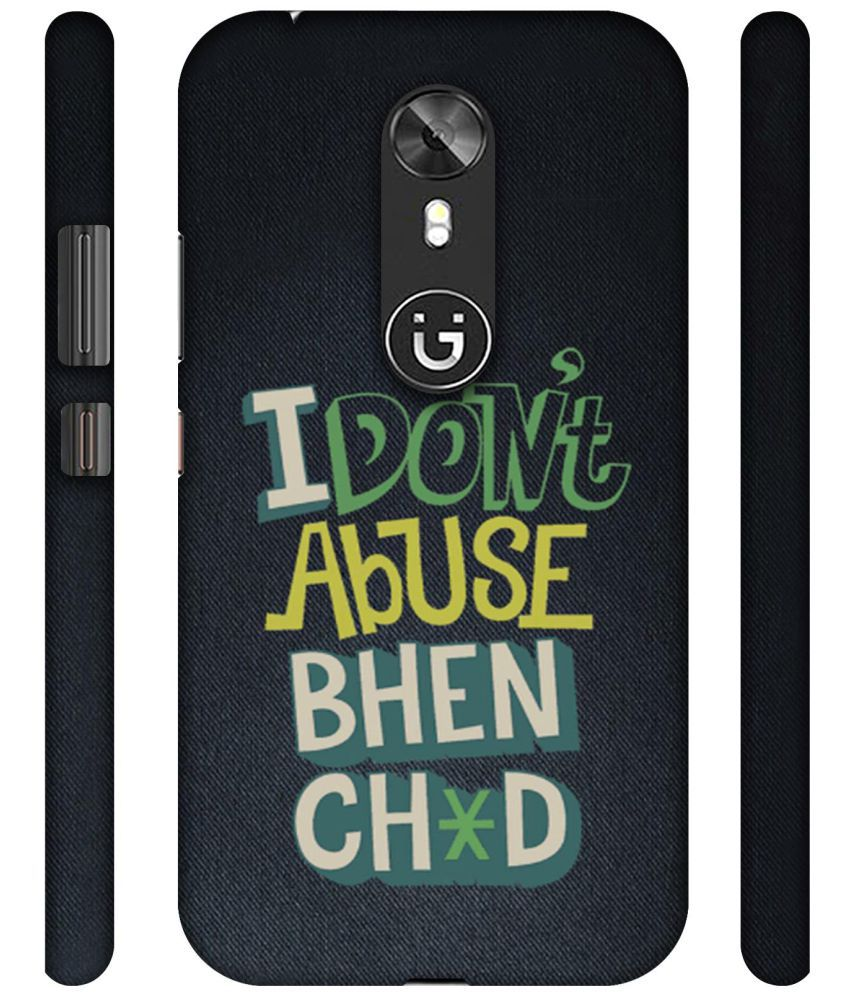 Gionee A1 Printed Cover By NattyCase