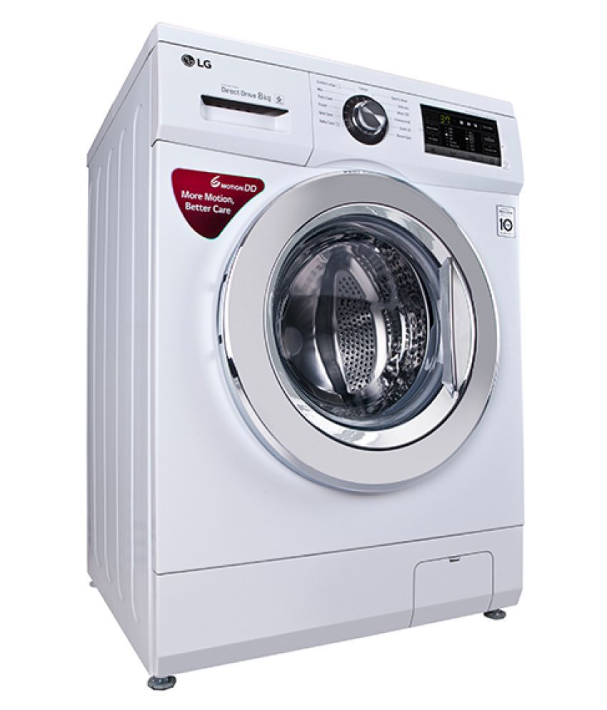 Lg 8 Kg Fh4g6tdnl22 Fully Automatic Fully Automatic Front Load Washing Machine Price