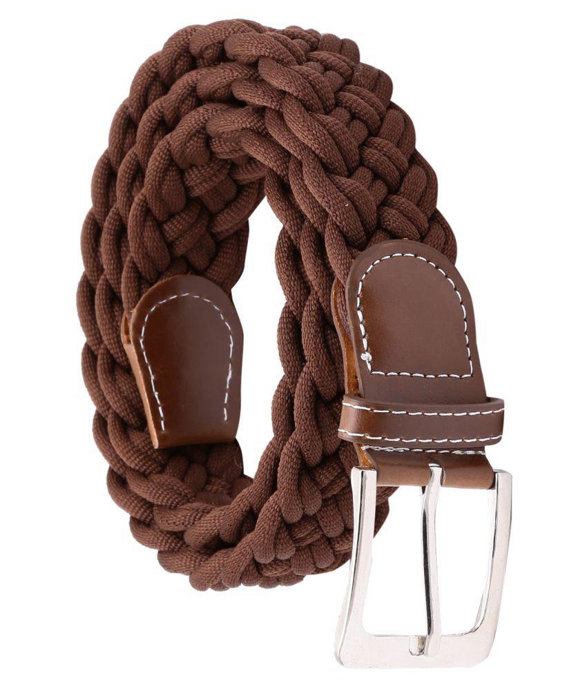 Random Brown Fabric Casual Belts