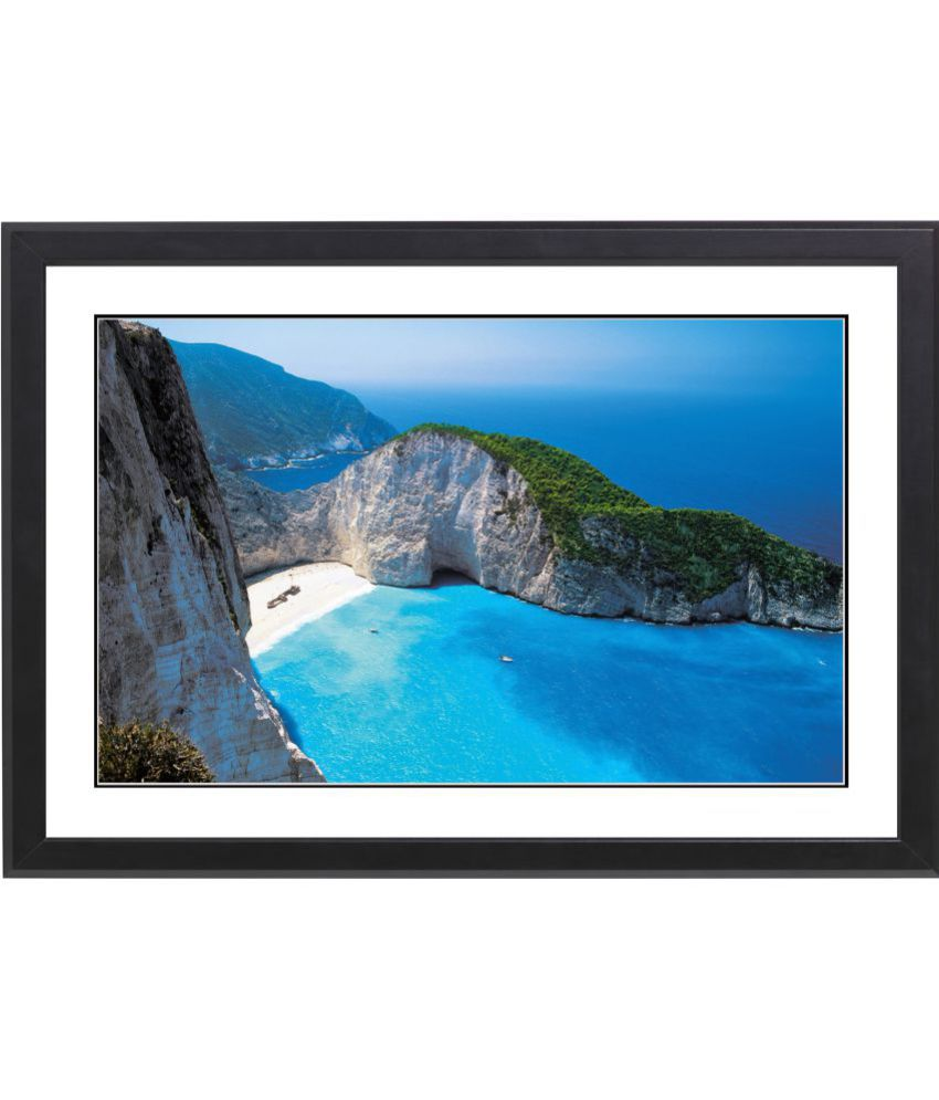 CRAFTSFEST BEAUTIFULL SCENERY MDF Painting With Frame- (30cmX20cmX1.5cm)