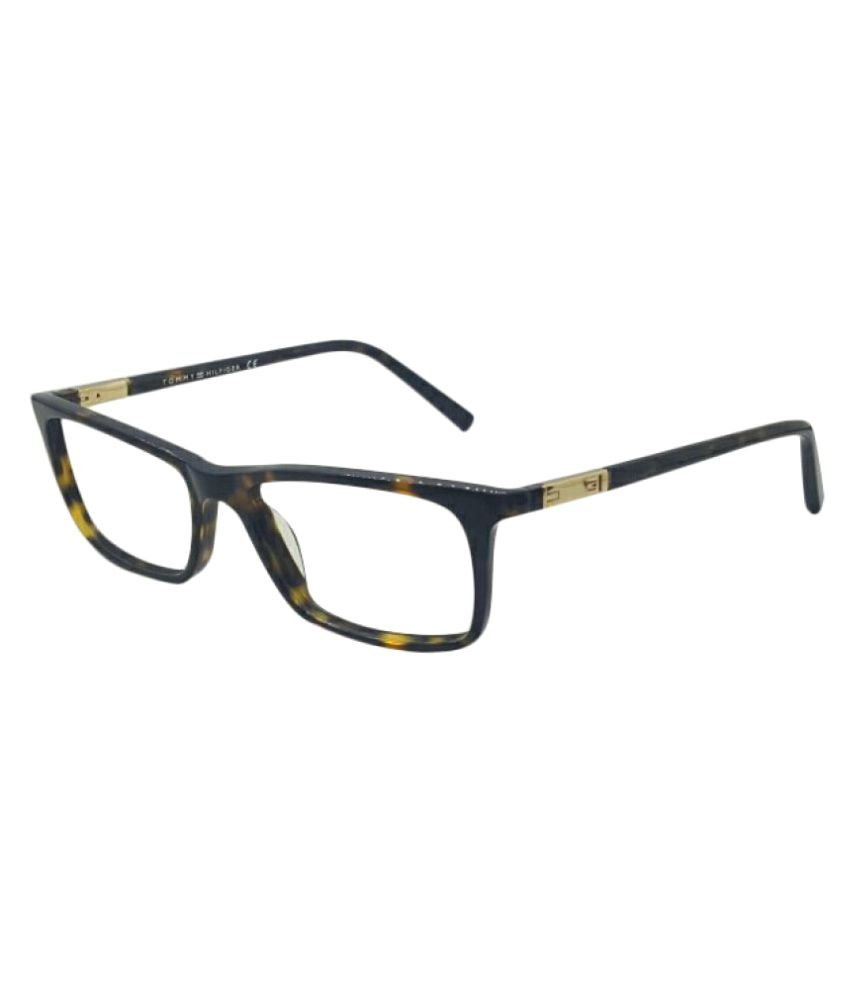 Tommy Hilfiger Multicolor Rectangle Spectacle Frame TH5728 C3