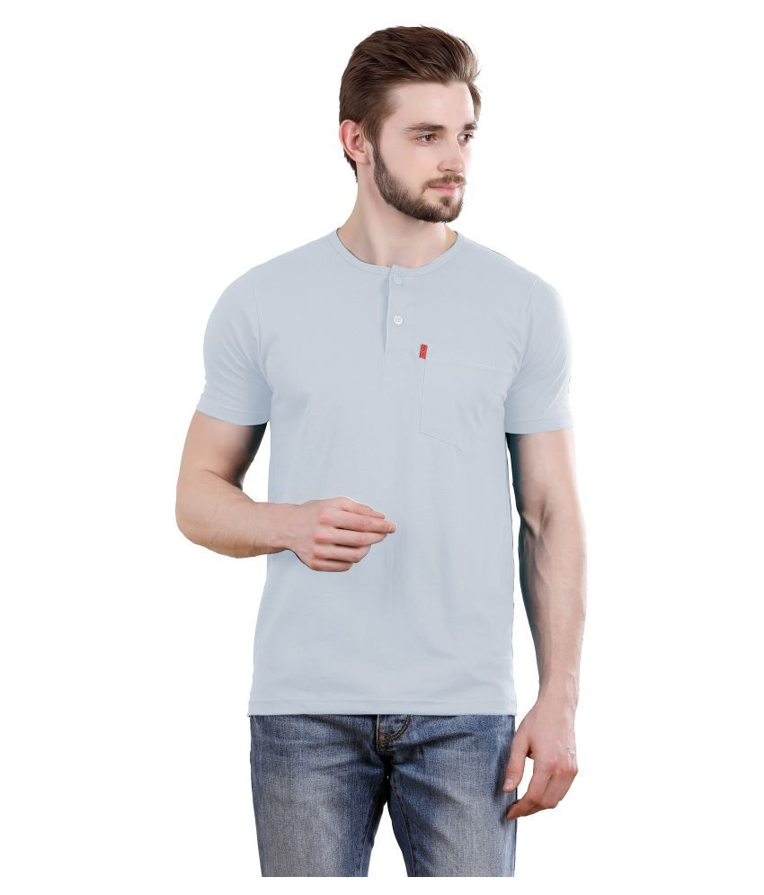 Spur Grey Henley T-Shirt
