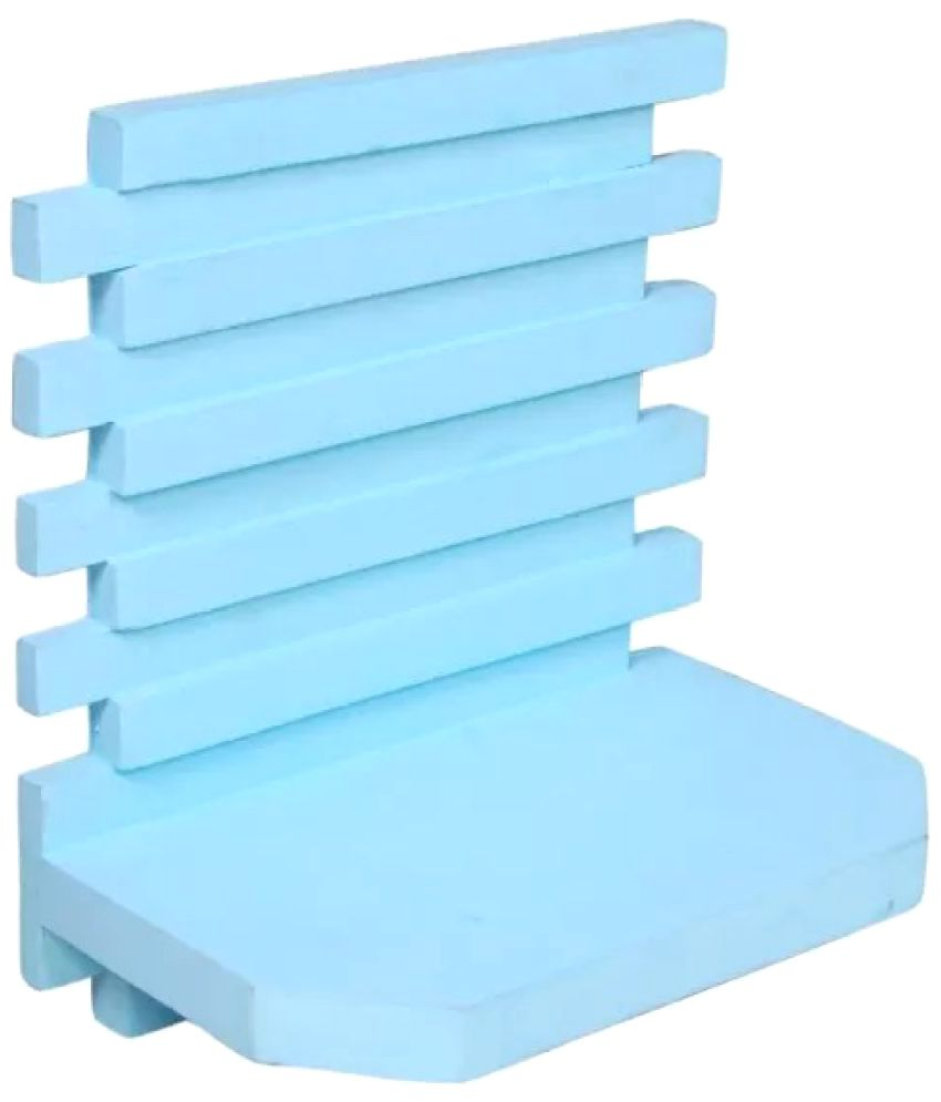 Onlineshoppee Floating Shelf/ Wall Shelf / Storage Shelf/ Decoration Shelf Blue - Pack of 1