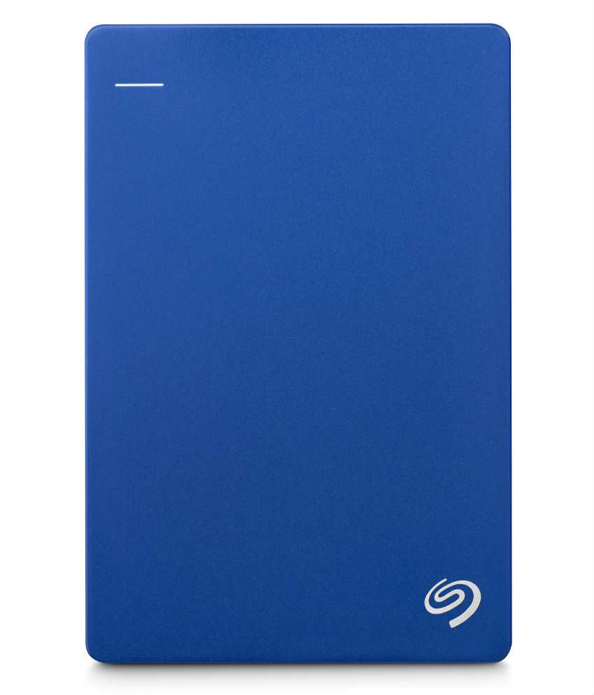 Seagate Backup Plus Slim 2TB Portable External Hard Drive & Mobile Device Backup (Blue)