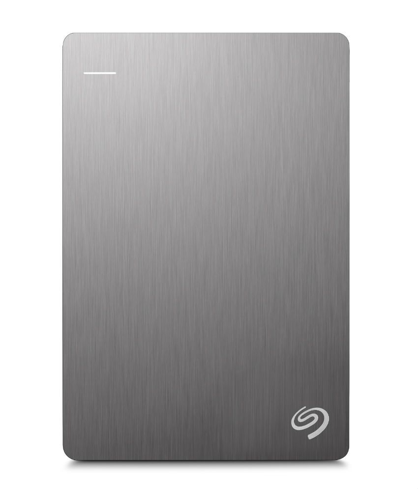 Seagate Backup Plus Slim 2TB Portable External Hard Drive & Mobile Device Backup (Silver)