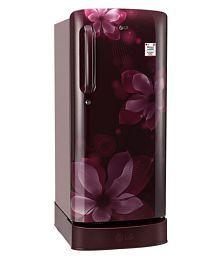 LG 190 Ltr 4 Star GL-D201ASOX Single Door Refrigerator - Maroon