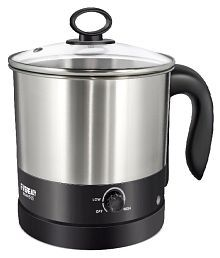 Eveready PMK505 1.2 Liters 600 Watts Stainless Steel Electric Kettle