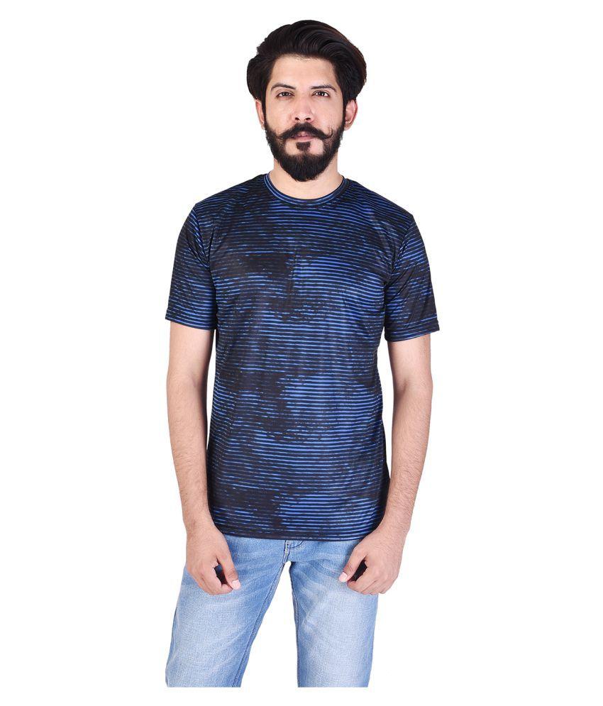 TBC - THE BRO CODE Blue Round T-Shirt