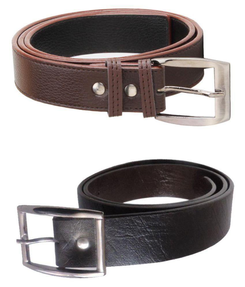 HR Trading Co. Multi PU Combo Belts