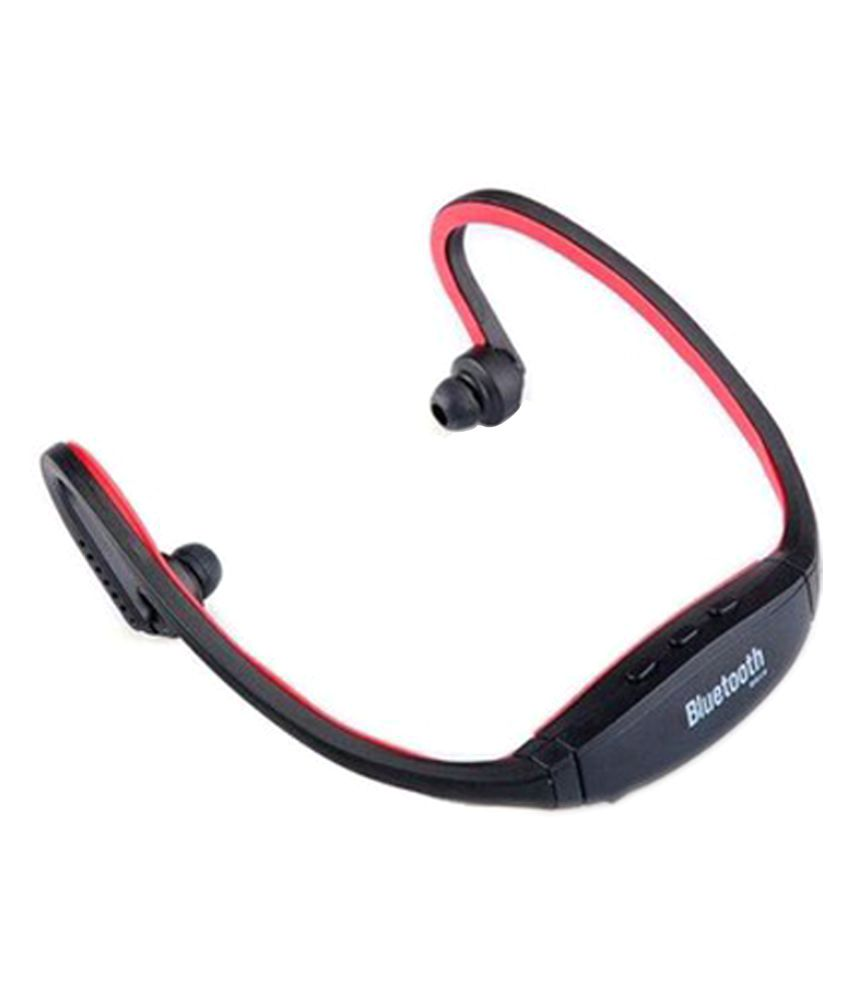 Heavyloot Bluetooth Headset - Black - Bluetooth Headsets Online At Low Prices